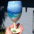 Waimanalo Beach on Wine Glass, Another Angle