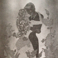 Divine Romance - Print from Wallpaper & Wax Etching